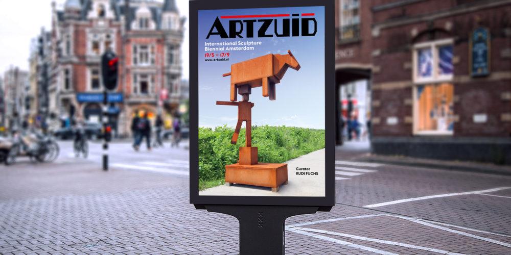 Artzuid Sculptuurroute Amsterdam 2017